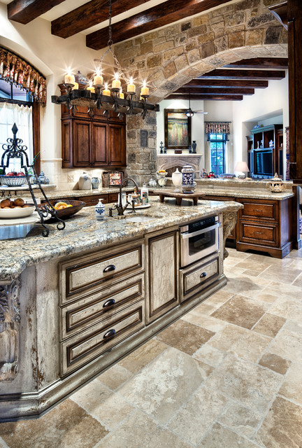 English manor for Traditional english kitchen