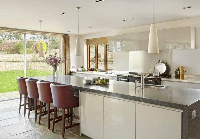 English Rectory Contemporary Kitchen South East By Annie Stevens Designs Ltd