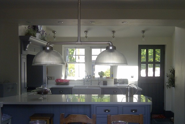 English revival design and installation for Traditional english kitchen design