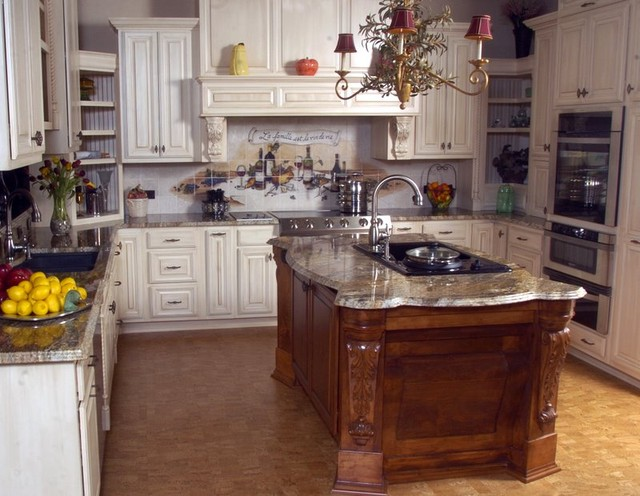 English style kitchen traditional kitchen miami by for Traditional english kitchen