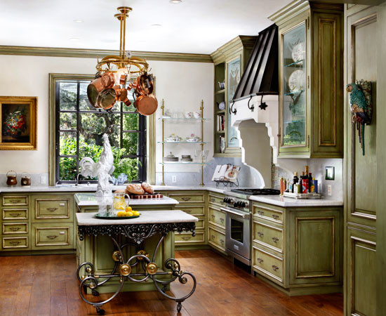 English tudor traditional kitchen san francisco by for Traditional english kitchen