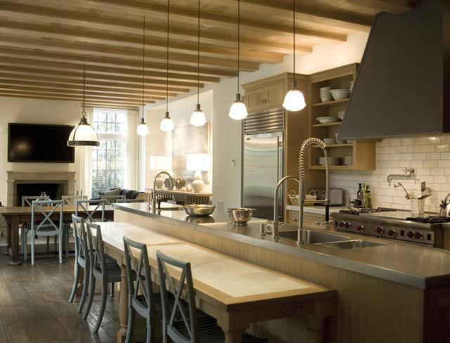 English Tudor Style Kitchen - Traditional - Kitchen ...