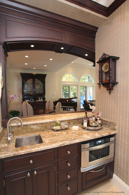 Entertaining in Style traditional kitchen