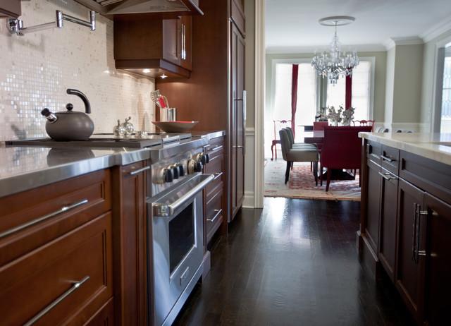 Entertaining Kitchen traditional-kitchen