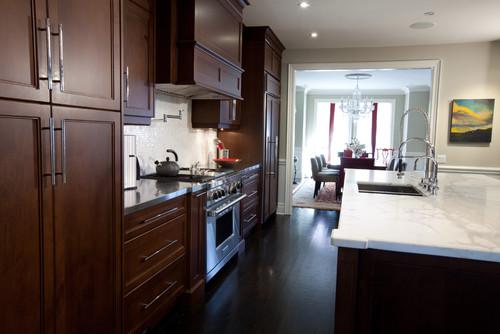 Entertaining Kitchen eclectic kitchen