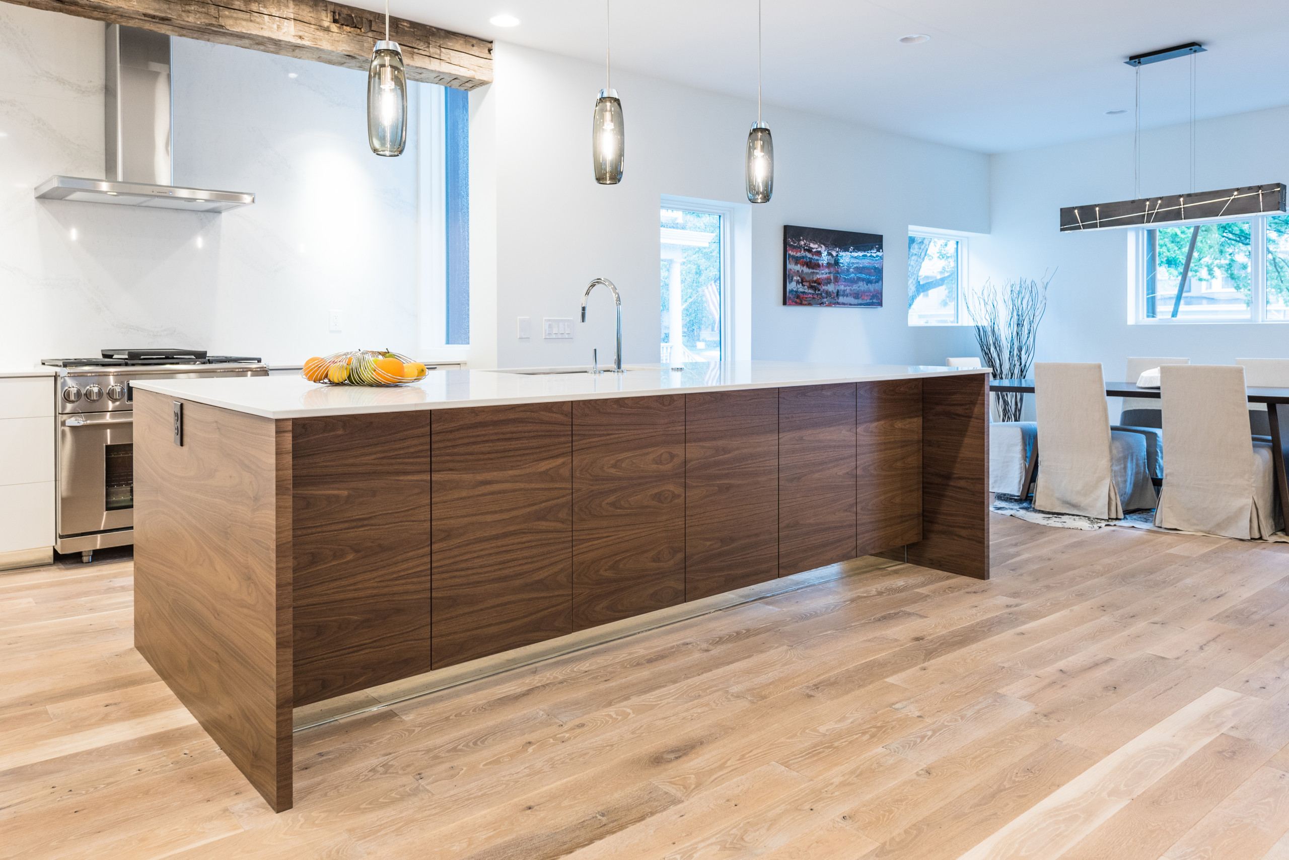 Erie Avenue Contemporary by Don Justice Cabinet Makers