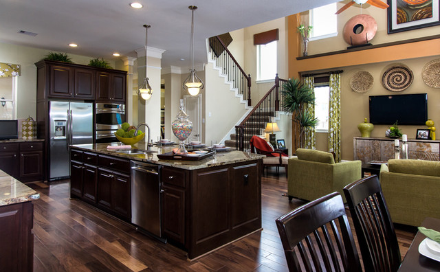 Erwin Traditional Kitchen Houston By David Weekley Homes