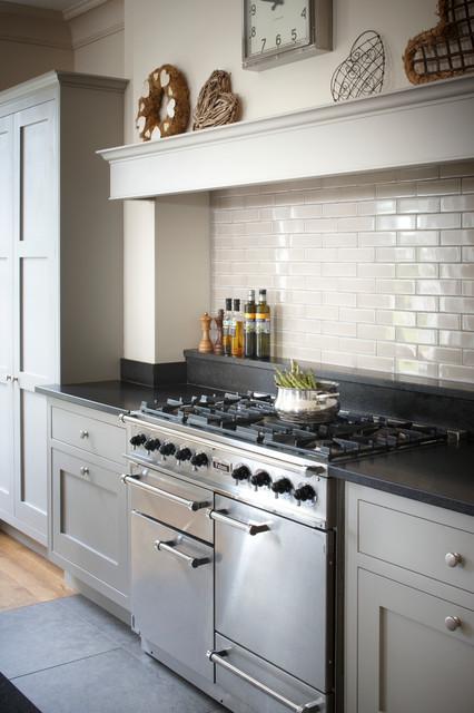 Esher Grey Shaker Kitchen - Transitional - Kitchen - london - by ...