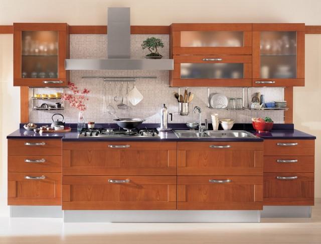 ESMERALDO by Snaidero design - Oxford cherry contemporary-kitchen