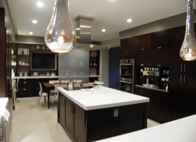 Espresso Kitchen Modern Kitchen New York By Angela