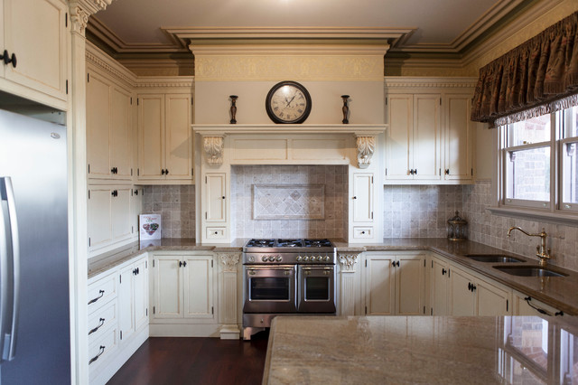 Essendon provence traditional kitchen melbourne by for Provence kitchen design