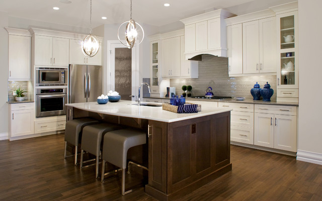 Etherial splendor contemporary kitchen calgary by for Kitchen cabinets calgary