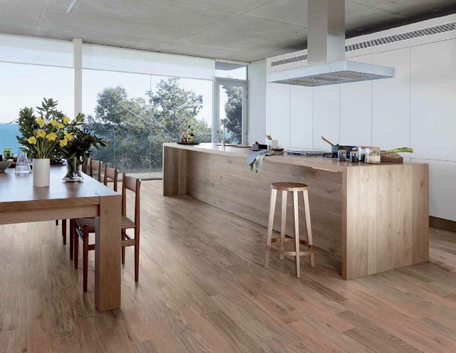 Etic Collection Wood Inspired Porcelain Tiles Contemporary