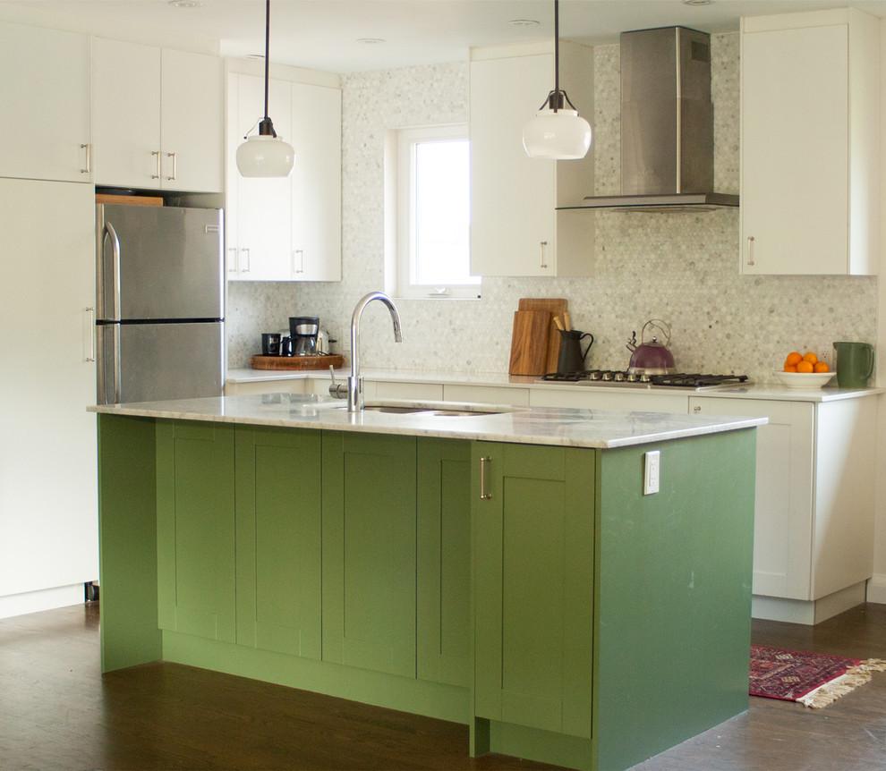 Etobicoke Bungalow Kitchen Renovation Contemporary Kitchen Toronto By Nicole Morell Interiors