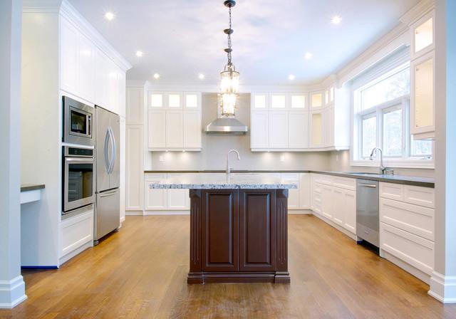Etobicoke Custom Home Transitional Toronto By Eurodale Developments Inc