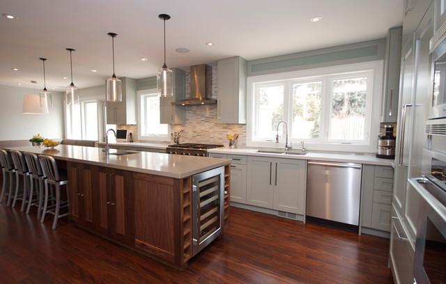 Etobicoke Residence 2 contemporary-kitchen