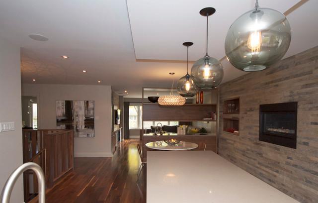 Etobicoke Residence contemporary-kitchen