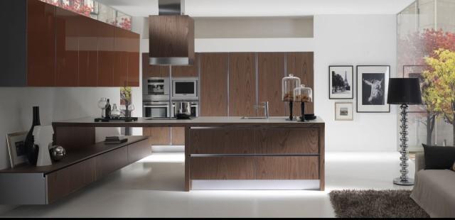 interior Italian kitchen cabinet's - Modern - Kitchen - Los Angeles ...