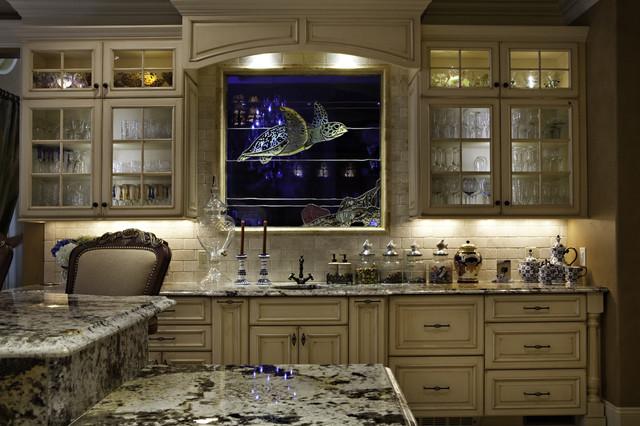 European And Tuscan Style Gourmet Kitchen Delectable Gourmet Kitchen Design Style