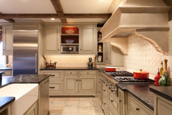 European Country Traditional Kitchen Philadelphia By Ernst Brothers