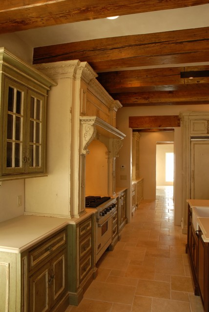 European Country Style - Kitchen/Butler's Pantry traditional-kitchen