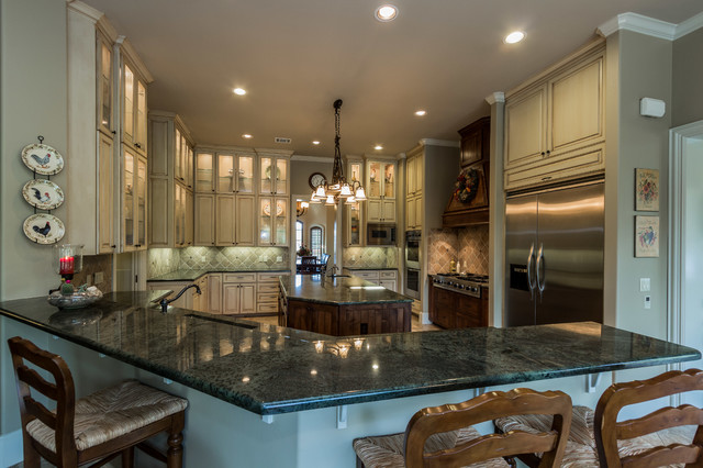 European estate home traditional kitchen other metro for Traditional european kitchen