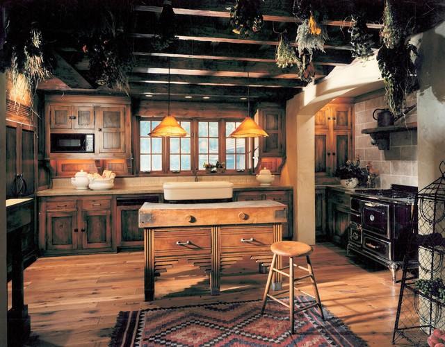 Farmhouse Kitchen by Bruce Kading Interior Design