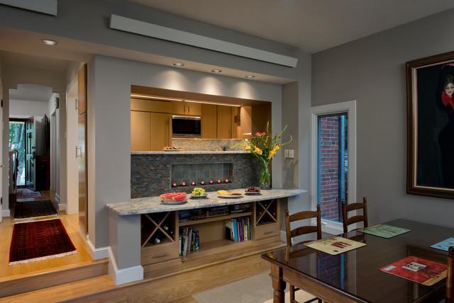 European Galley Kitchen contemporary-kitchen
