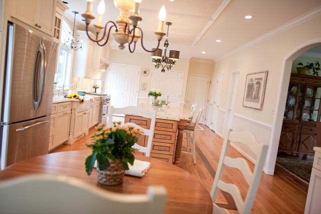 European Inspired Kitchen traditional-kitchen