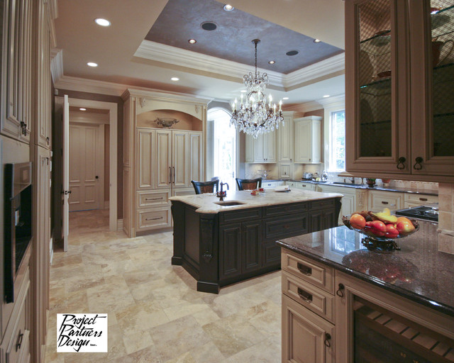 European Kitchen Traditional Kitchen Chicago By Project Partners Design