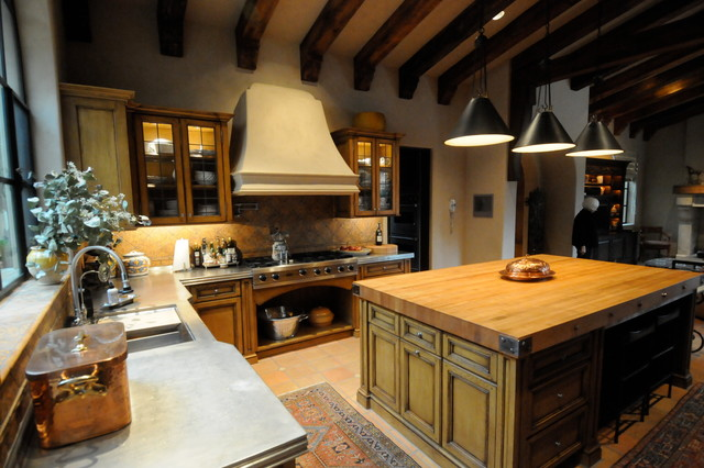European Old World Villa Traditional Kitchen Other Metro By Samartzis Minchew Design Llc