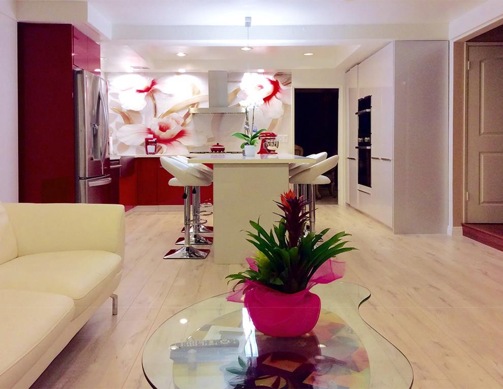 European Style Cabinet - Modern - Kitchen - Los Angeles ...