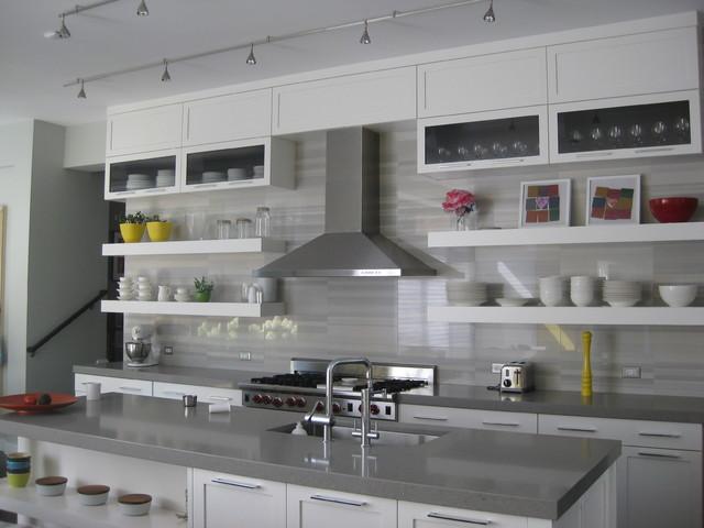 Evanston Addition contemporary-kitchen