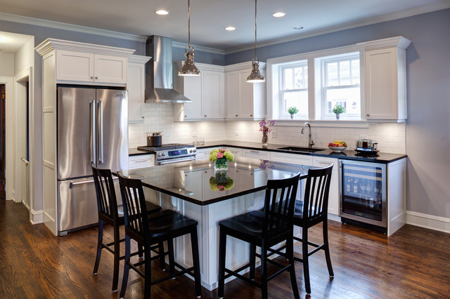 Evanston Home Addition traditional-kitchen