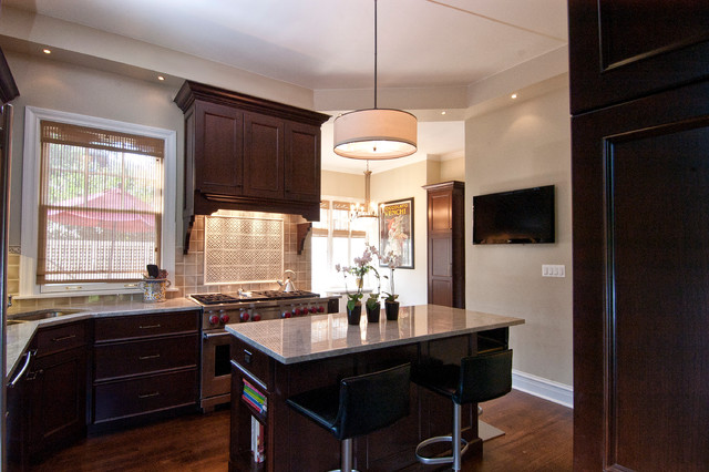 Evanston Il 2 Traditional Kitchen Chicago By Ddk Kitchen Design Group