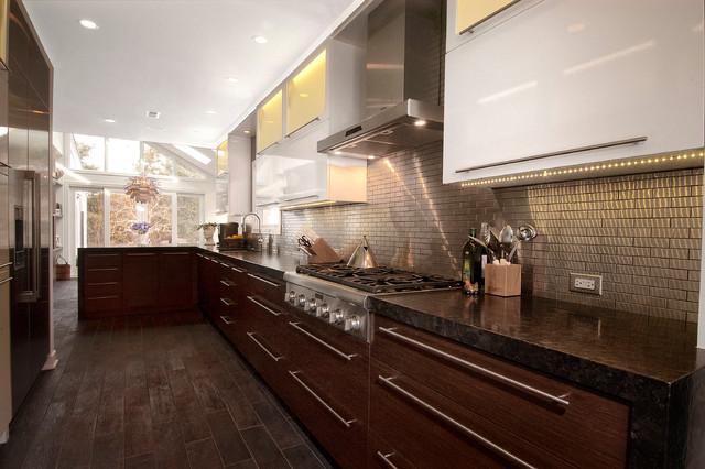 Evanston Il 3 Contemporary Kitchen Chicago By Ddk Kitchen Design Group