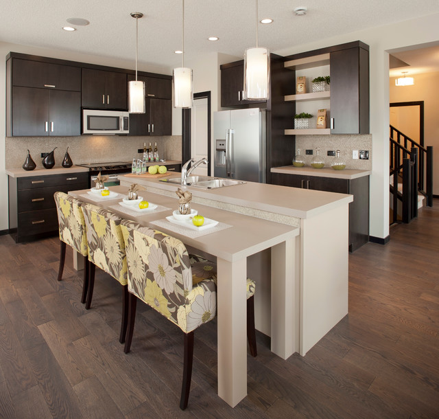 Evansview - The Midtown - Contemporary - Kitchen - Calgary - by ...