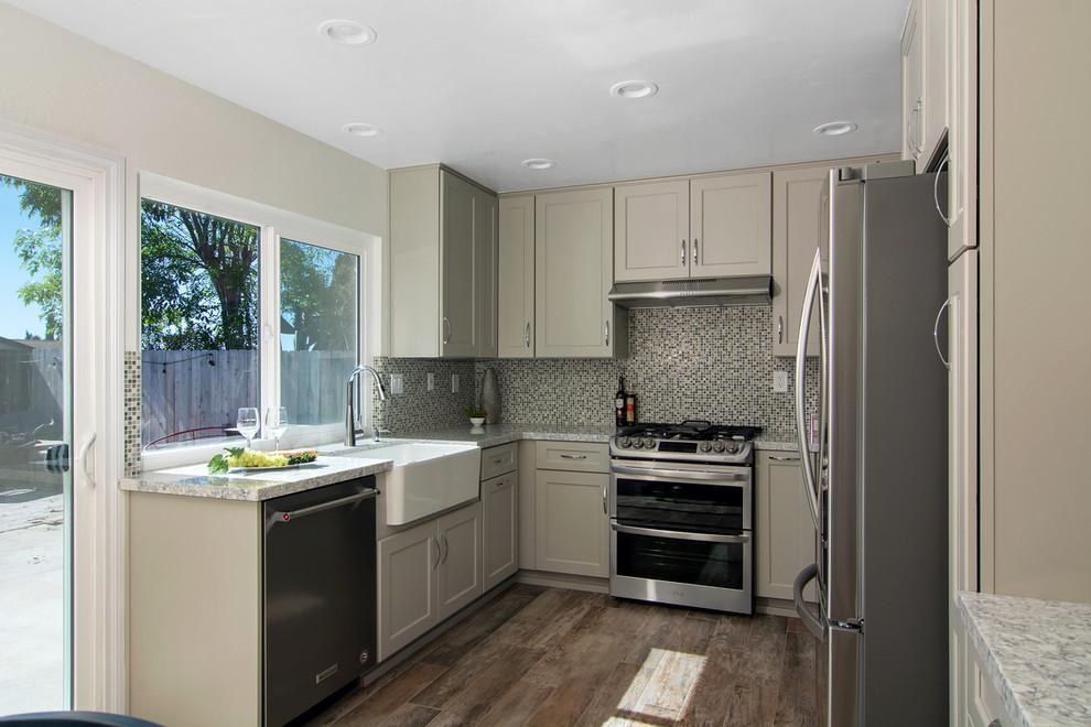 Everest Gray Kitchen - Transitional - Kitchen - San Diego ...