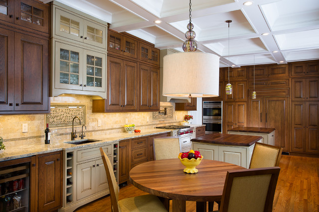 Evergreen Place Kitchen Renovation traditional-kitchen