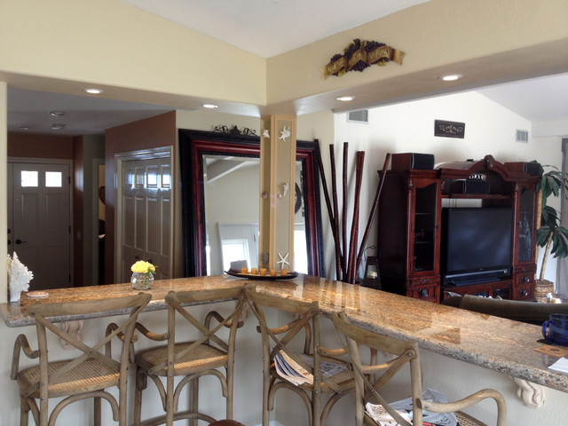 Examples of Drywall and Framing work traditional-kitchen