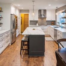 Excelsior Grey & White Kitchen