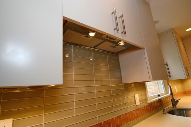 Exciting Orange contemporary-kitchen