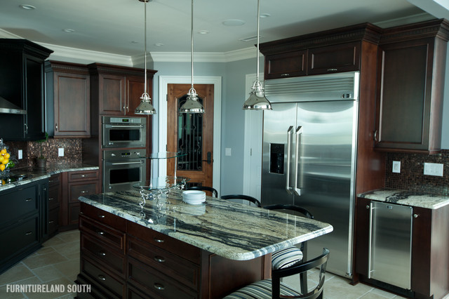 Executive Penthouse Apartment traditional-kitchen