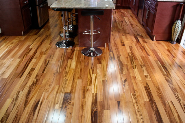 Hardwood Flooring Dealers Installers Minimalist Kitchen Photo In Minneapolis