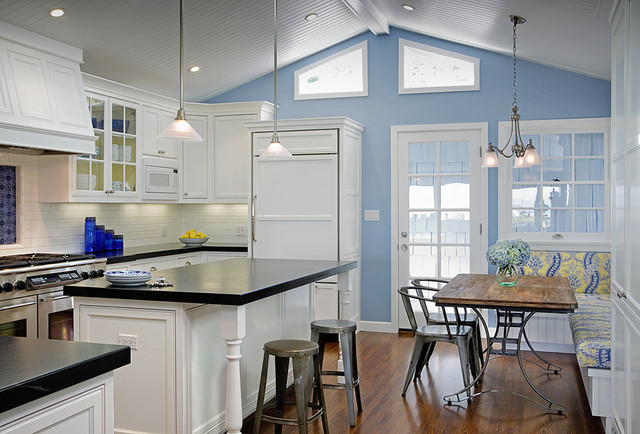 Expanding A Cape Cod Style Beach Cottage Traditional Kitchen San