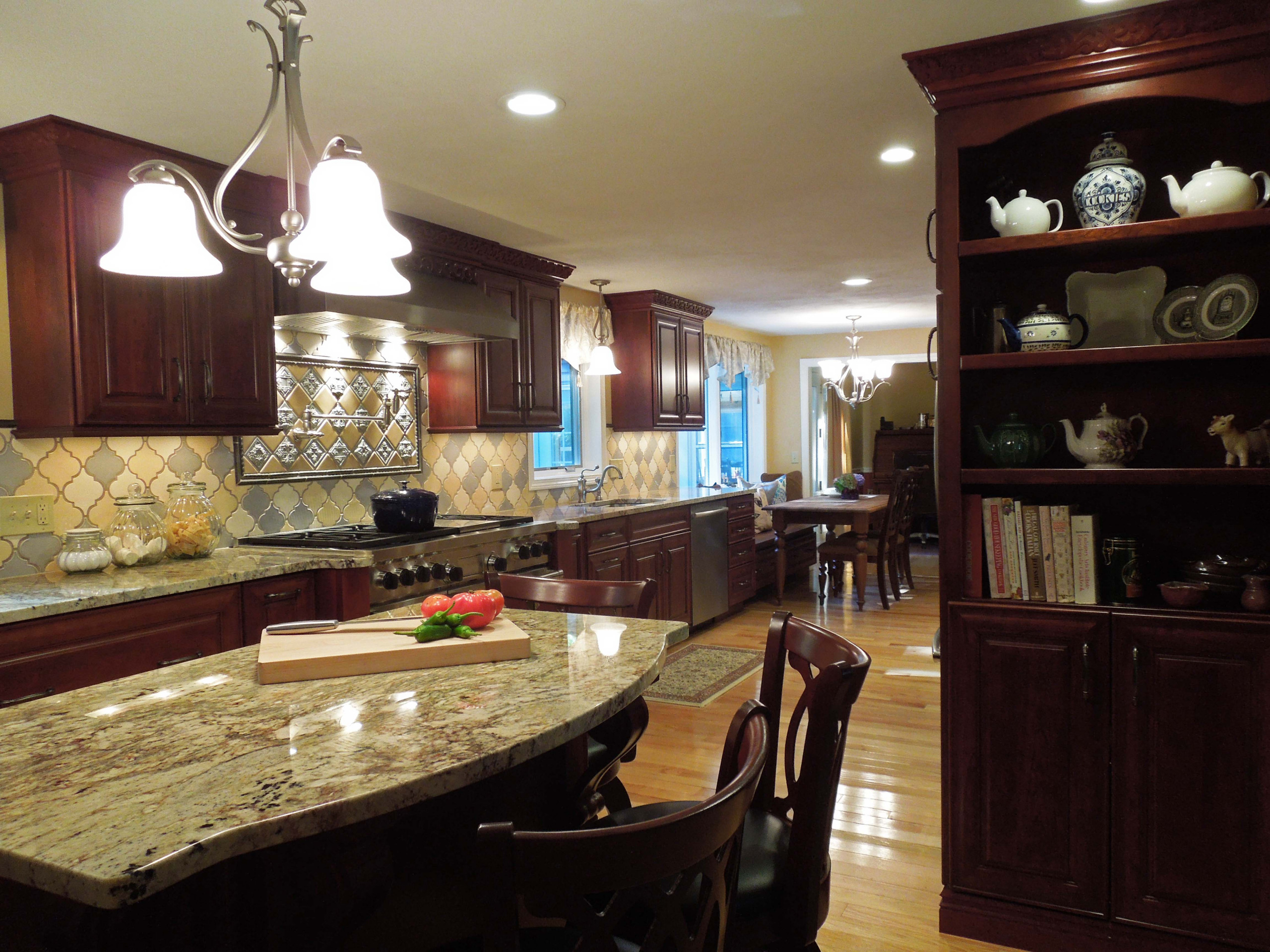 Exquisite Cherry Kitchen full of great details