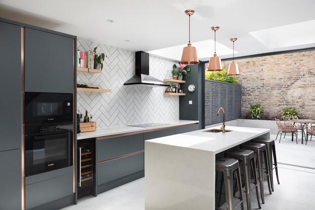 Extension & loft conversion - Palmerston Road sovremennyy-kuhnya