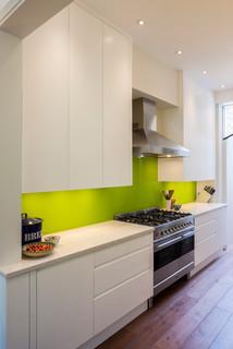 Extension, Queen's Park - Contemporary - Kitchen - London