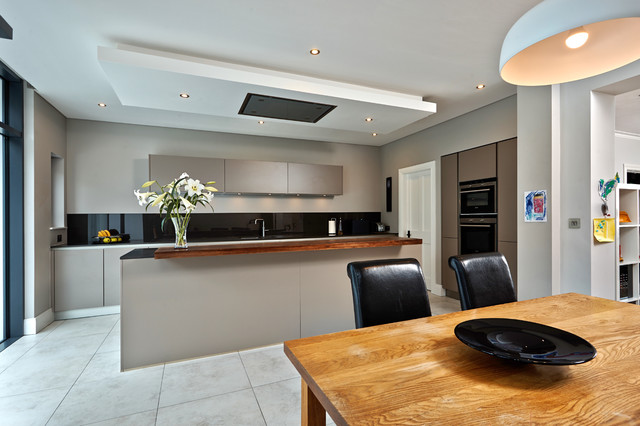 Extension To Semi Detached House, Bangor Northern Ireland  Contemporary Kitchen