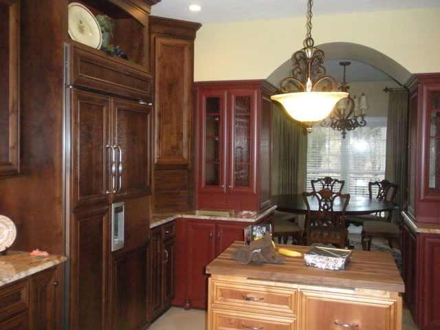 Extensive Kitchen Remodel, kitchen to dining room traditional-kitchen